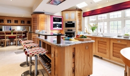 Open space modern kitchen